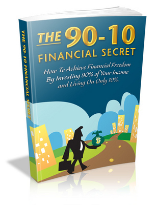 Product picture The 90-10 Financial Secret With MRR *NEW*