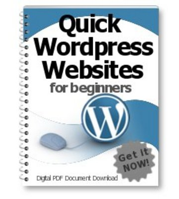 Product picture Quick Wordpress Websites For Beginners - PLR